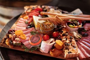 Canapes catering perth wa grazing plate Funeral Catering
