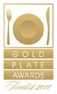 gold plate caterer award